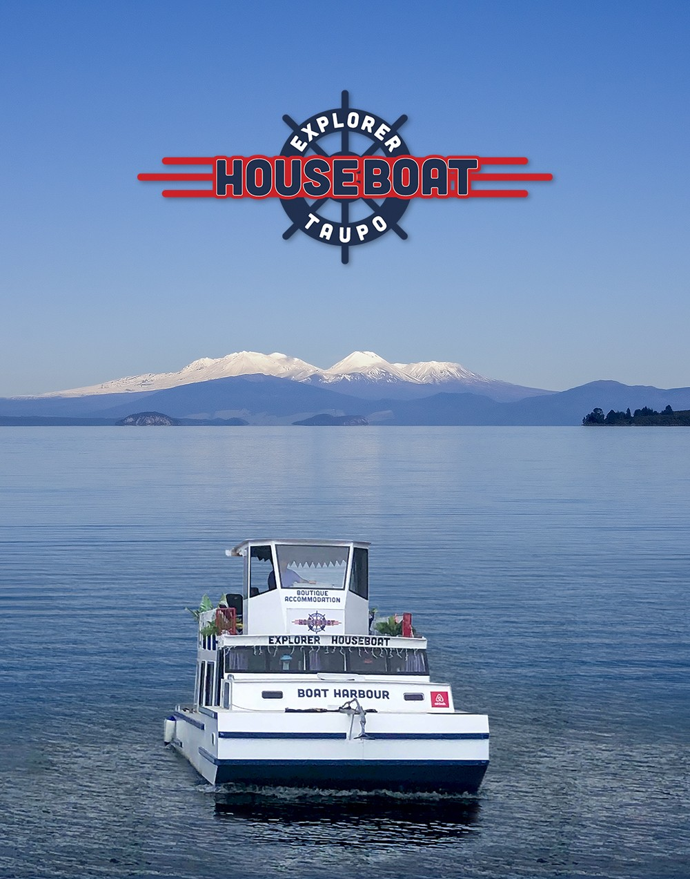Explorer on Lake Taupo