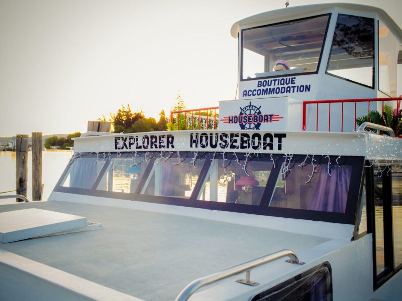 The Houseboat - Taupo Explorer